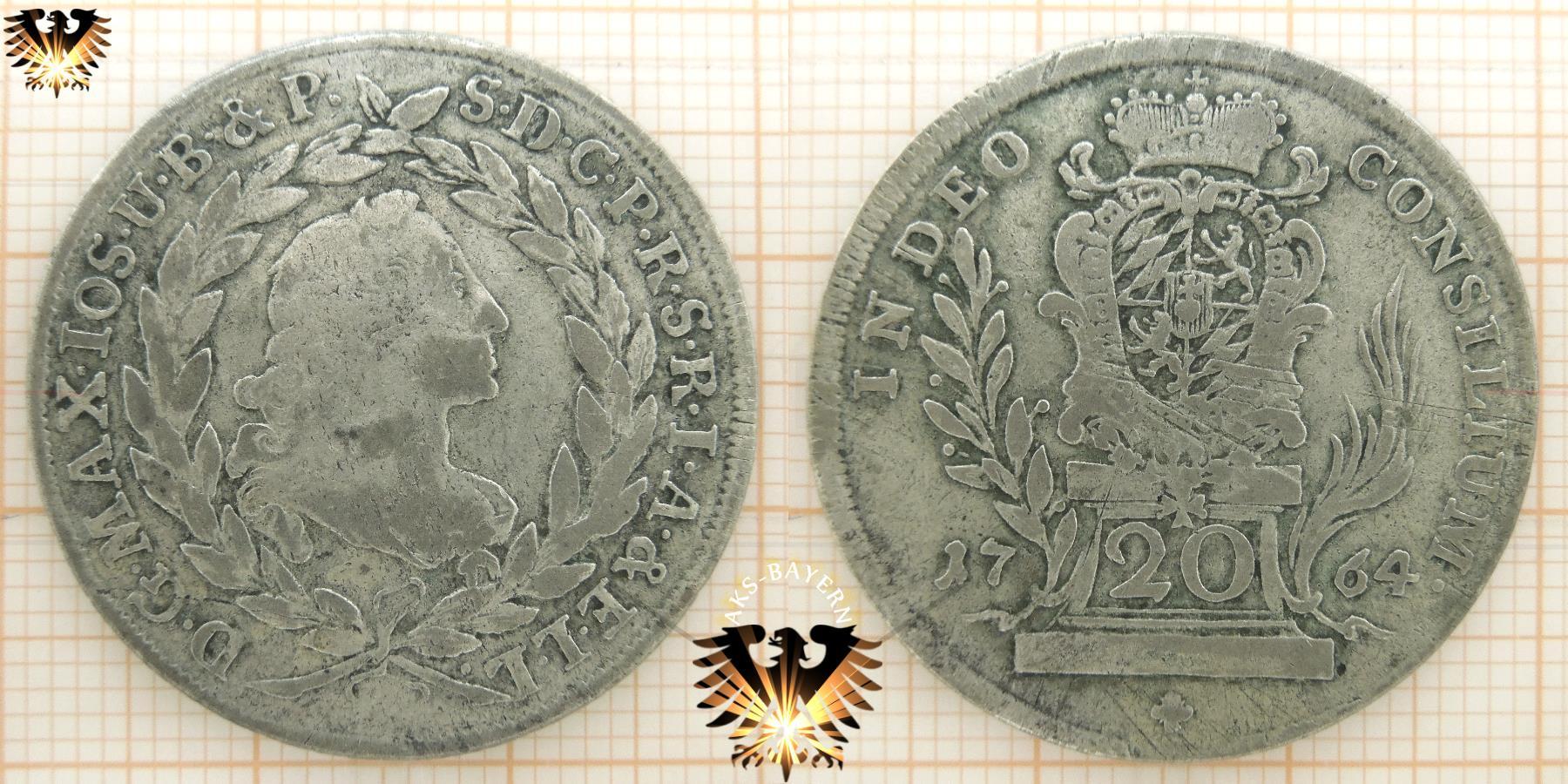 Bayern 10 Kreuzer 1794 Car Theod Silbermünze