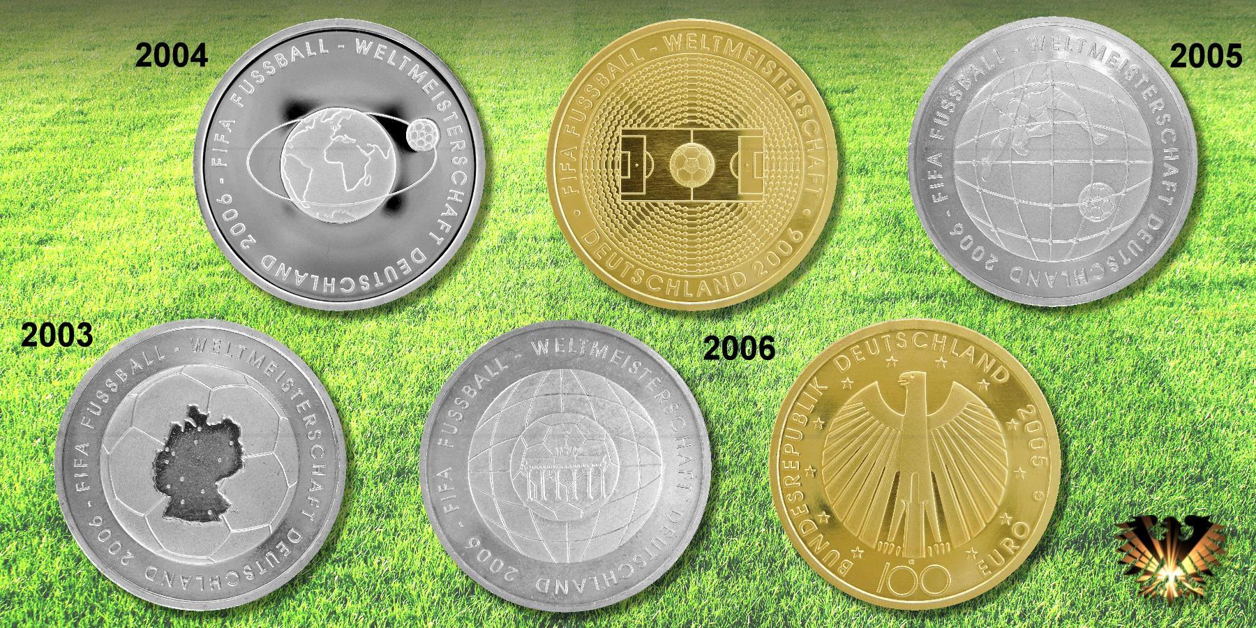 10 Brd 2004 Fifa Fußball Weltmeisterschaft 2006 Mit Bilder