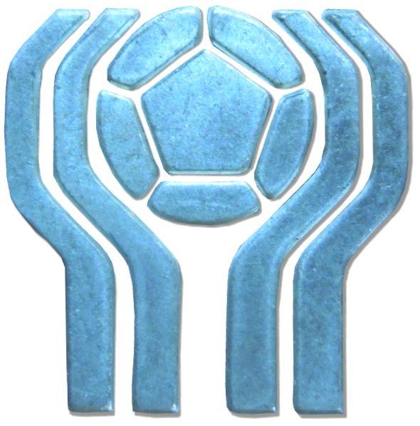 Logo aus einer Münze der Argentinischen Fußball Weltmeisterschaft 1978. Legendär die Schmach von Cordoba.