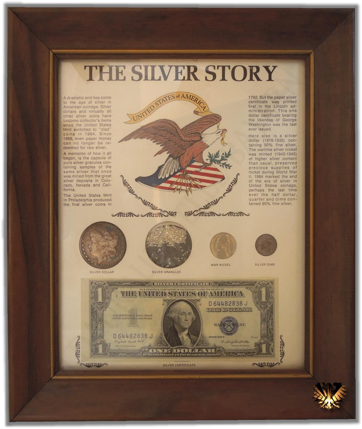 The Silver Story Silver Certificate Dollarnote
