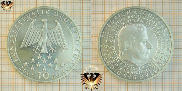 Bundesrepublik Deutschland 5 Euro Münze Abgas Euro 5
