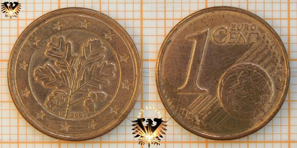 Materialwert 1 Cent Münze
