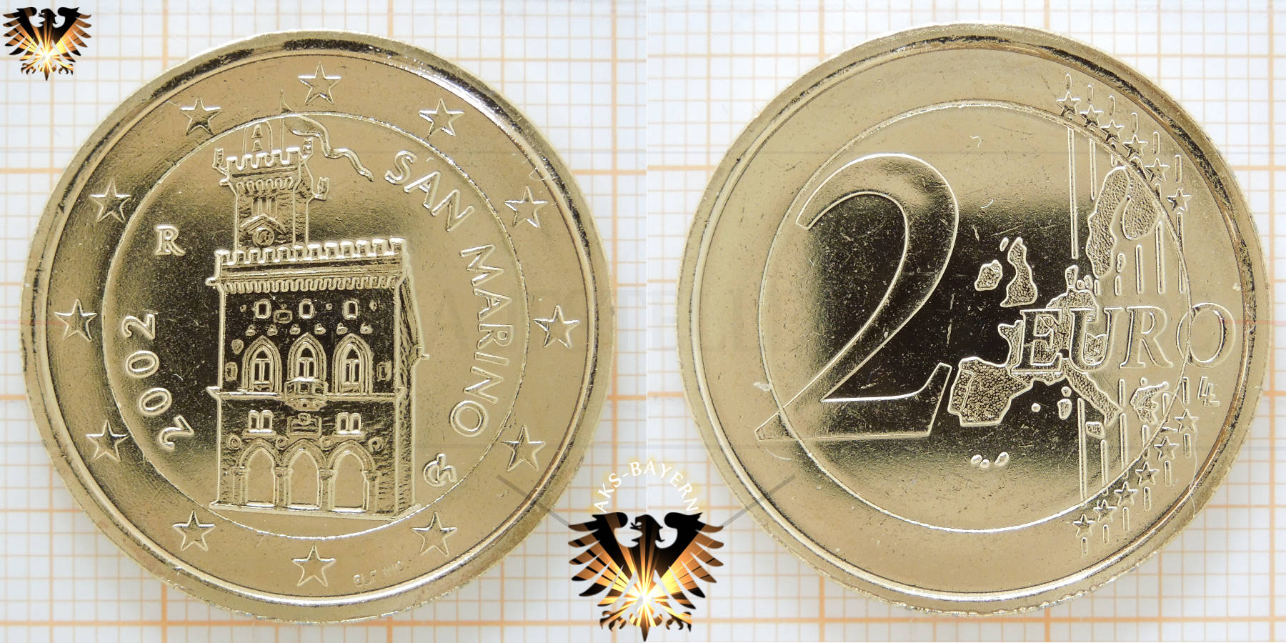 2 Euro San Marino 2003 Nominal