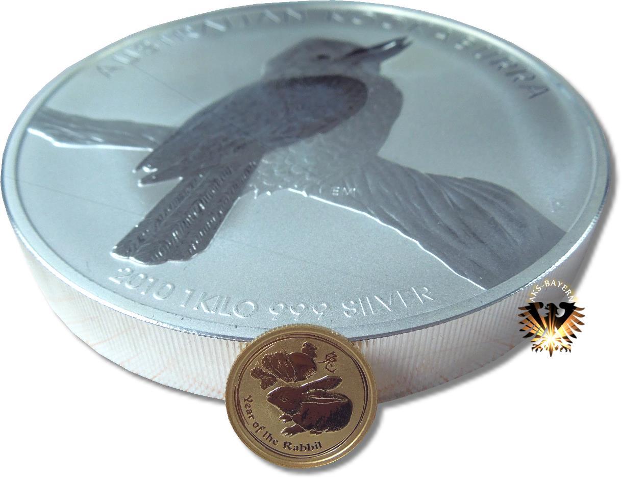 30 Aud 30 Dollars 2010 Australien Australian Kookaburra 1 Kilo