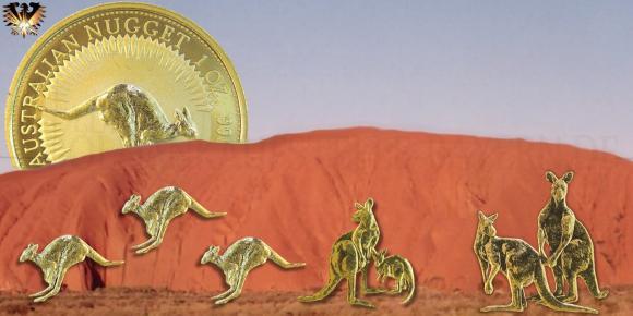 Australian Nugget - Anlagemünze aus Australien © goldankaufstelle-bayern.de