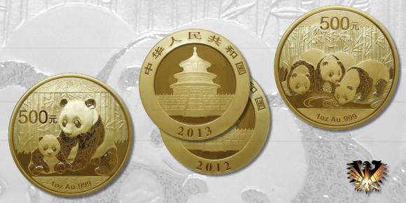 Panda - China - Anlagemünze in Gold und Silber © goldankaufstelle-bayern.de