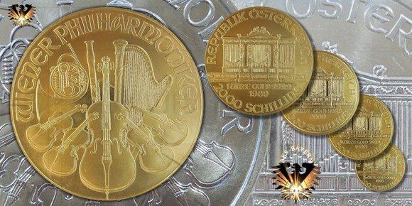 Philharmoniker - Österreich - die erfolgreiche Anlagemünze aus Österreich © goldankaufstelle-bayern.de