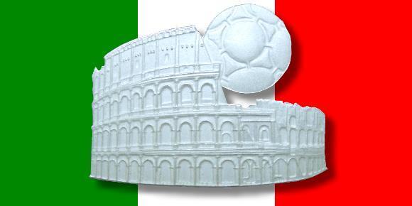 Die Münzen Zur Xiv Fifa Fußball Weltmeisterschaft In Italien