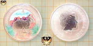 1 Dollar, 2011 P, Australien Purnululu National Park