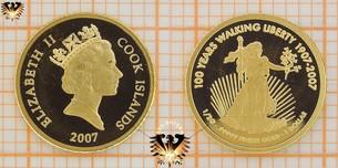 1 Dollar, Cook Islands, 2007, 100 Years  Vorschaubild