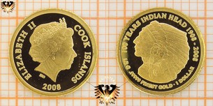 1 Dollar, Cook Islands, 2008, 100 Years  Vorschaubild