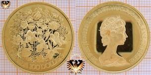100 Dollars, 1977, Canada, Elizabeth-II, Golddollar Silver Jubilee, 1952-1977, Gold