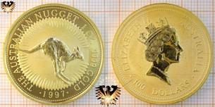 Bullionmünze: AUS, 100 Dollars, 1997, Australian Nugget,  Vorschaubild