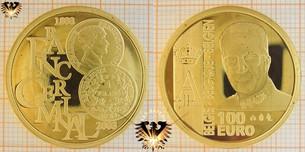 Wir kaufen auch belgische Goldeuro-Münzen