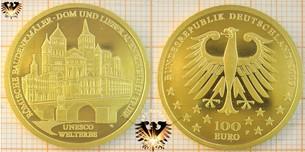 100 und 200 Euro Goldmünzen der BRD