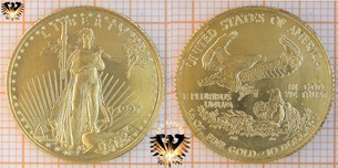 $10 Dollars, Liberty, USA, 1997, American Eagle,  Vorschaubild