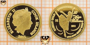 5 Dollars, Cook Islands, 2011, Russian Gold  Vorschaubild