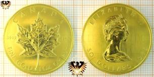 Bullionmünze: CAN, 50 Dollars, Canada, Maple Leaf  Vorschaubild