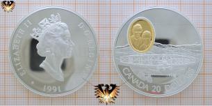 Canada, 20 Dollars,  Silver Dart, Flugzeug, McCurdy, Baldwin