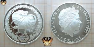 Australien Münze, Sydney 2000 Olympiade, 5 Dollars   Vorschaubild
