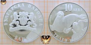 10 Leva 1999, Bulgarien, НАРОДНА, Tioaeh Mohax,  Vorschaubild