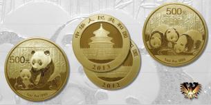Panda - China - Anlagemünze in Gold  Vorschaubild
