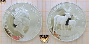 50 Dollars 1991, Cook Islands, Endangered Wildlife,  Vorschaubild