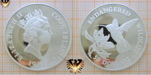 Kolibri - Hummingbird, 50 Dollars 1991, Cook  Vorschaubild