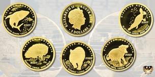 Wir kaufen auch Münzen aus der Serie die kleinsten Goldmünzen der Welt