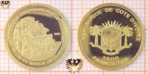 Elfenbeinküste, 1500 CFA, 2006, Republik Côte d'Ivoire  Vorschaubild