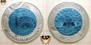 25 Euro, Erneuerbare Energie, Silber Niob Münze, Österreich, 2010