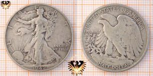 Half Dollar, USA, 1942, Walking  Vorschaubild