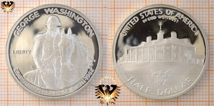 Half Dollar, USA, 1982, George Washington, 200.  Vorschaubild