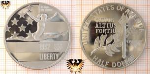 Half Dollar, USA, 1992, Olympics 1992