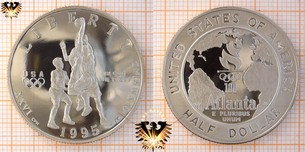 Half Dollar, USA, 1995, XXVI Olympics Games Atlanta
