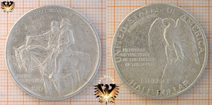 Half Dollar, USA, 1925, Stone Mountain  Vorschaubild