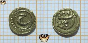 Indien, Münze Gold, Fanam 18.- 19.  Vorschaubild