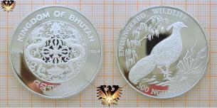 Endangered Wildlife, Fasan, 300 NGULTRUM 1994, Kingdom  Vorschaubild