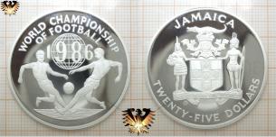25 Dollars, World Championship of Football 1986,  Vorschaubild