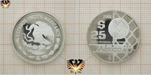 Goal / Tor, $ 25, Pesos, Silber,  Vorschaubild