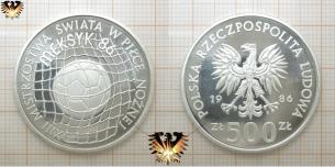 500 Zloty, Fußball im Netz, Polen, World  Vorschaubild