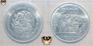 $ 100 Pesos, Mexico 86, Silbermünze, Plata  Vorschaubild
