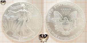 One Dollar Liberty Silver Eagle USA | Y2K Bullionmünzen Verkauf + Ankauf