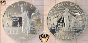1 Dollar, USA, 1986, Statue of Liberty  Vorschaubild