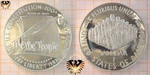 1 Dollar, USA, 1987, Bicentennial of the  Vorschaubild