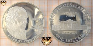 1 Dollar, USA, 1993, James Madison, Bill  Vorschaubild