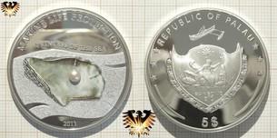 Motivmünze Palau, 5 Dollars 2011, Princess of  Vorschaubild