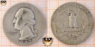 25 Cents, 1 Quarter Dollar,  USA, 1942,  Vorschaubild