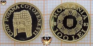 Romania, 100 Lei, 2003, Coif Polana Cotofenesti,  Vorschaubild