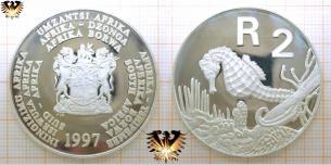 Seepferdchen, 2 Rand, 1997, Südafrika, Gefährdete Tierwelt,  Vorschaubild